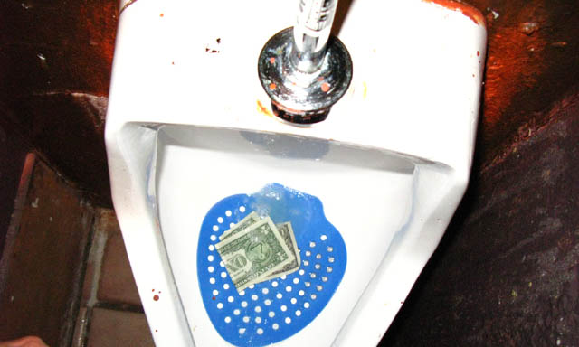 I call this one Men's Room Pisser at the Troubadour during the Menomena Show