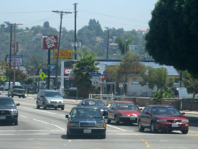 York Blvd is essentially the southern boundary of Garvanza at Figueroa Street on the West end