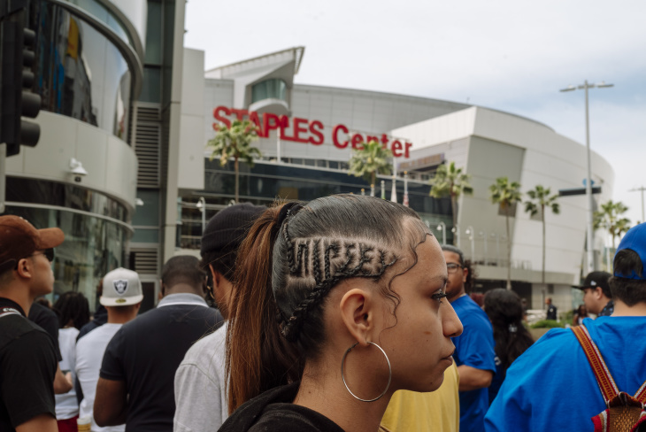 Photos: LA Pays Tribute To Nipsey Hussle On His Final