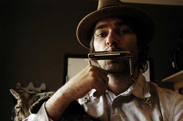 Folk musician Patrick Park