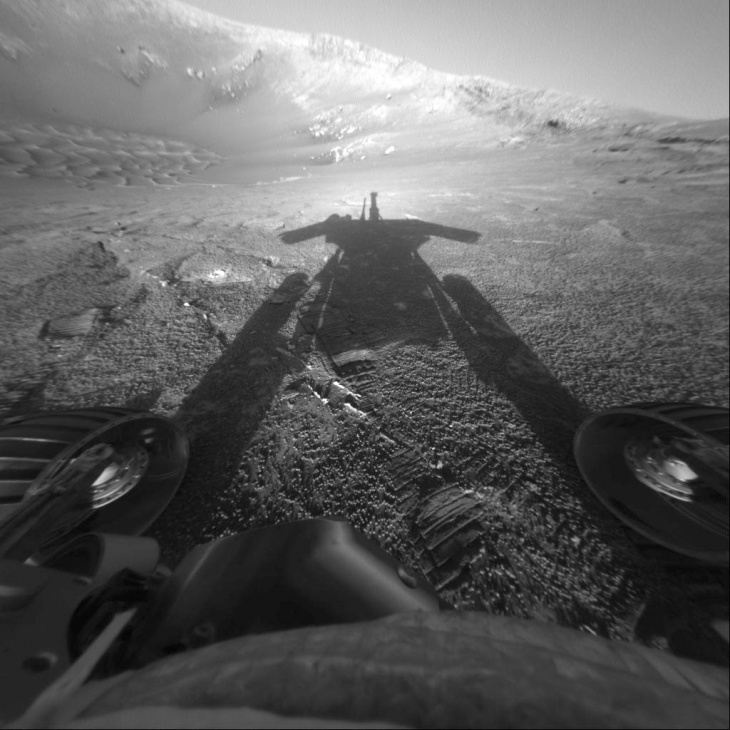 mars rover battery low getting dark - photo #15