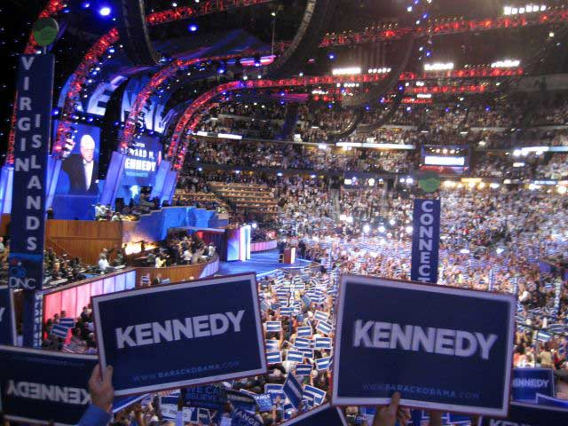 Ted Kennedy at DNC