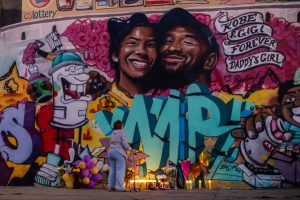 LeBron Breaks Silence, New Murals, Lakers Lights: The Most LA Tributes To Kobe Bryant