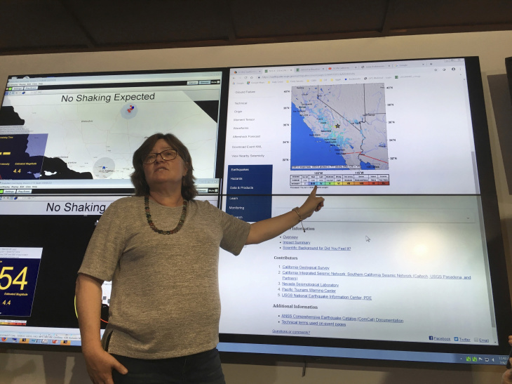 6 4 Earthquake — And Dozens Of Aftershocks — Rock Our SoCal