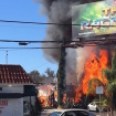 Fire Blazes Through Toluca Lake Pumpkin Patch