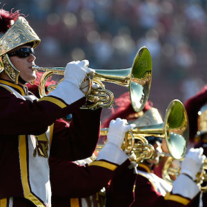 Mayor Garcetti To Conduct Trojan Marching Band At USC Football Game