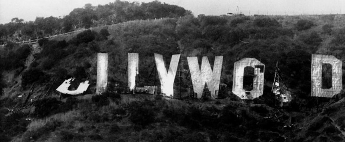 Image result for hollywood sign destroyed