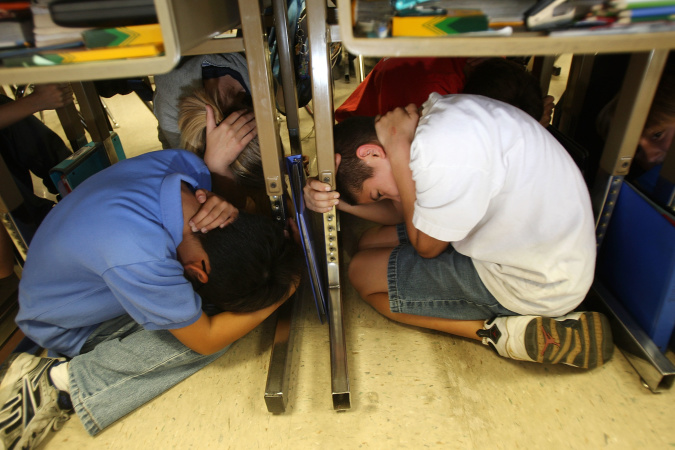 At 10:18 On 10/18, Angelenos Got Under Their Desks. Here's Why