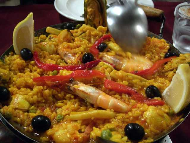 Paella -- it's what's for dinner at Ciudad