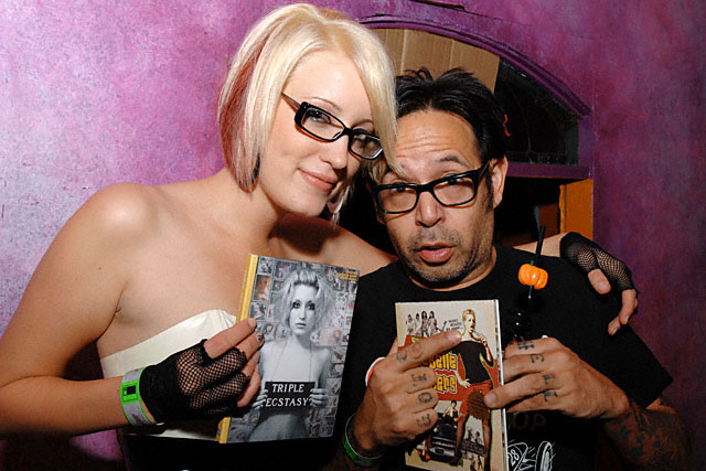 Kimberly Kane and Octavio 'Winkytiki' Arizala