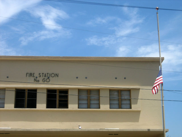 The North Hollywood Fire Station was built in 1949