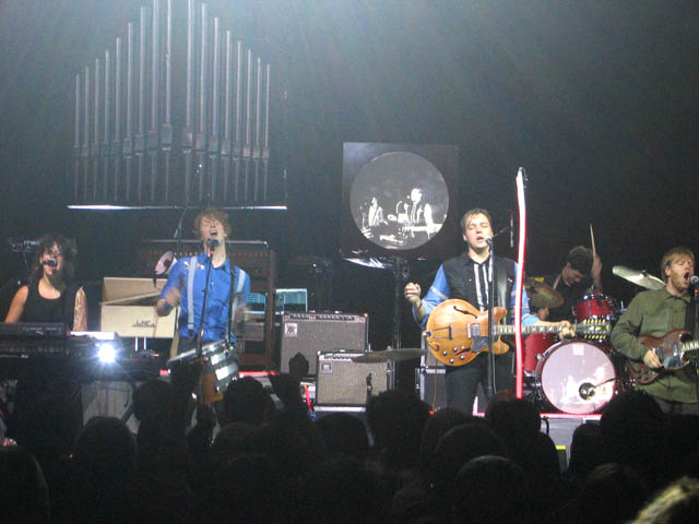 arcade fire at the greek theatre earlier this year