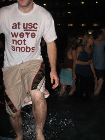 USC Fountain Run