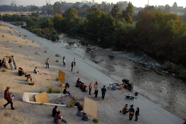 No Age shredfest at the LA River