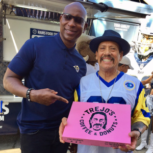 There's A Rams Food Truck Giving Away Free Trejo's Donuts And Tacos Around Town This Week