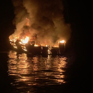 Additional Bodies Recovered From Dive Boat Fire Disaster Near Santa Cruz Island