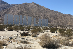 Desert X Returns To The Palm Springs Area -- With Political Statements