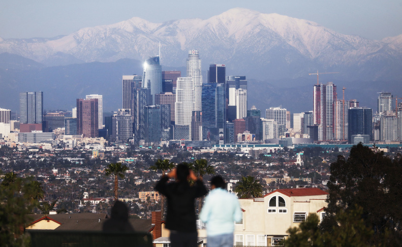 No, It's Not Just You. It Really Is Colder In LA This Week