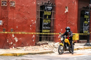 Information Slow To Trickle In After 7.4 Magnitude Earthquake Hits Oaxaca, Mexico