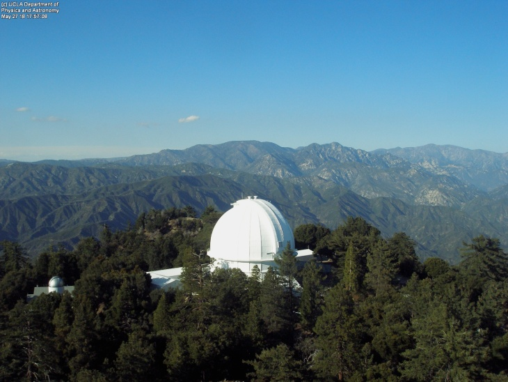 Mount Wilson Observatory dome