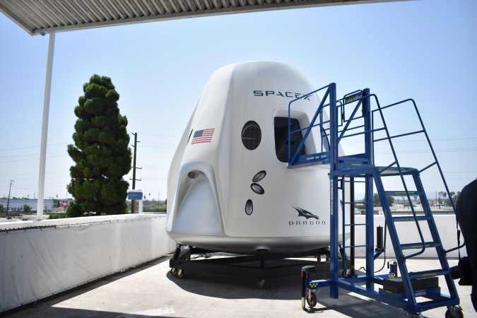 SpaceX Will Send People To The ISS, And The Ship They Built Is So Sci-Fi Sleek