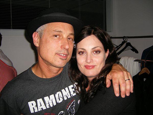 DJ Bonebrake and Abby Travis