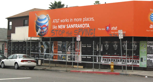 at&t does spy on you and these people will spray cans seem to know it