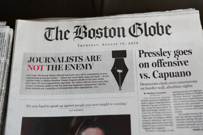 LA Man Arrested For Allegedly Threatening To Shoot Boston Globe Journalists