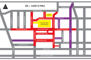 The Oscars Mean It's Time For Hollywood Street Closures