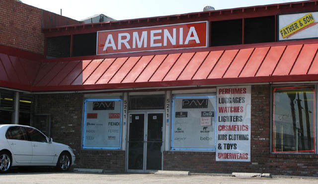Armenia on Sunset Blvd