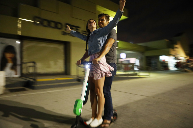 Santa Monica E-Scooters Now Blocked From Some Places By A Virtual Fence