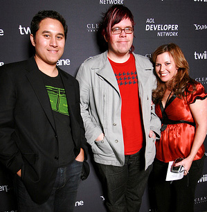 Founders of Twiistup and Perez Hilton