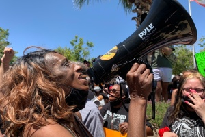 Palmdale Protesters Say Robert Fuller's Death Was A Lynching, Ask State To Investigate