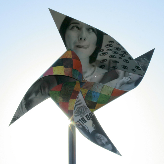 Ed Templeton Pinwheel at the Swerve Festival