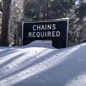 The Amount Of Snow Near Tahoe Could Be Good News For SoCal's Water Supply