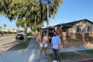 Mis Ángeles: 3 Friends In Southeast LA Turn To Social Media To Fund Remodels For LA's Working Poor