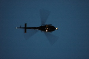 How to Find Out Why an LAPD Helicopter is Circling Above Your Home
