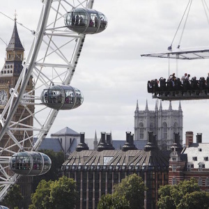 Eat Dinner At A Table Suspended 150 Feet In The Air