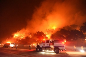 Cave Fire In Santa Barbara: 4,330 Acres Burned; Containment At 10%