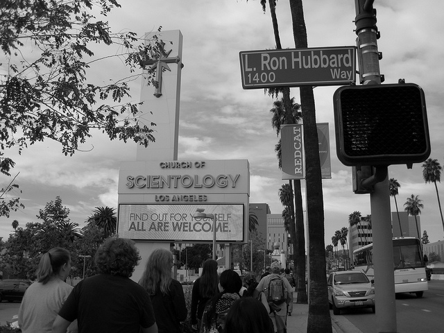 How Los Angeles Ended Up Geting An 'L. Ron Hubbard Way': LAist