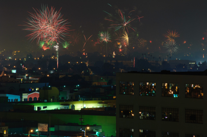 A Bunch Of Places To Watch 4th Of July Fireworks In LA