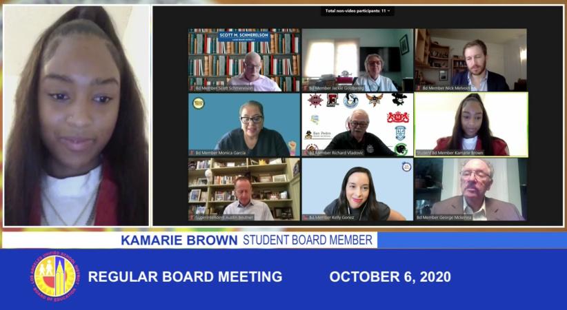 Meet Crenshaw High's Kamarie Brown, LAUSD's Newest Student Board Member