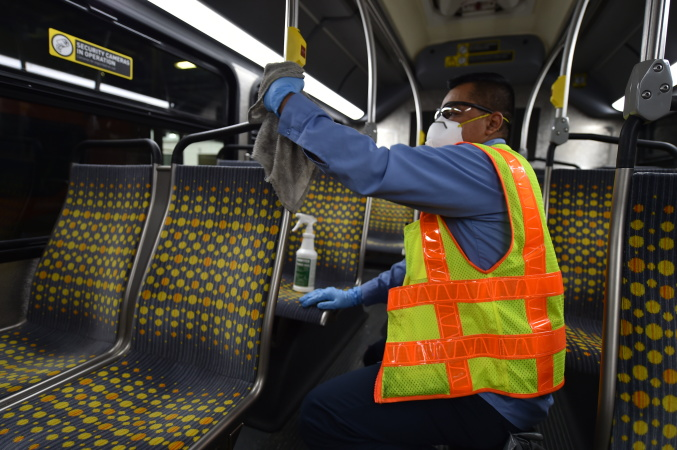 LA County Expands Vaccine Eligibility To Janitors, Transportation Workers