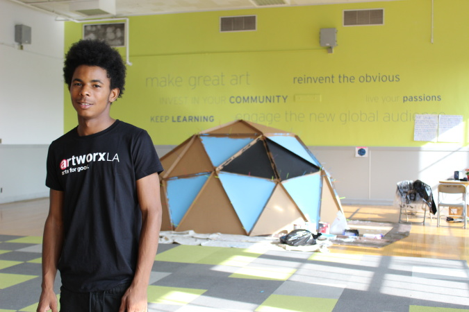 Can This Academy Requiring Arts Classes Get More Struggling LAUSD Students To Graduation?