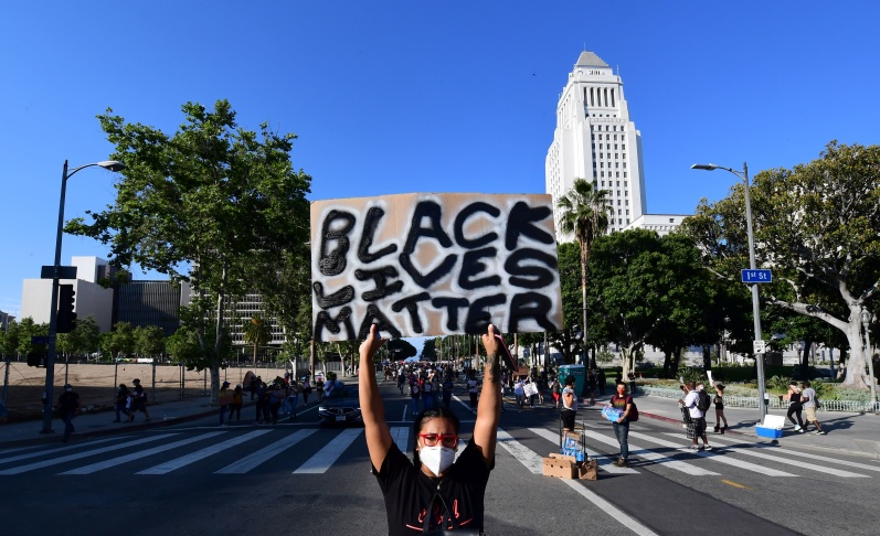 laist.com: Friday's LA Protests: When, Where And What We Know, June 5