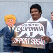 California Lawmakers Approve 'Sanctuary State' Bill