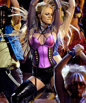 britney spears looked nothing like this last night at the house of blues on the sunset strip
