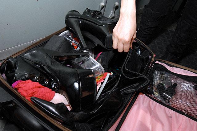 Dana DeArmond's Suitcase