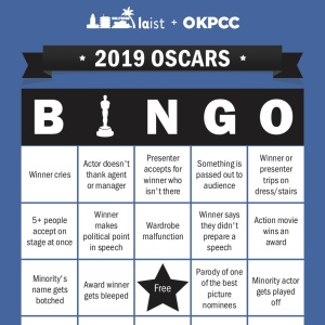 Download Oscars Bingo Cards And Play Along With LAist