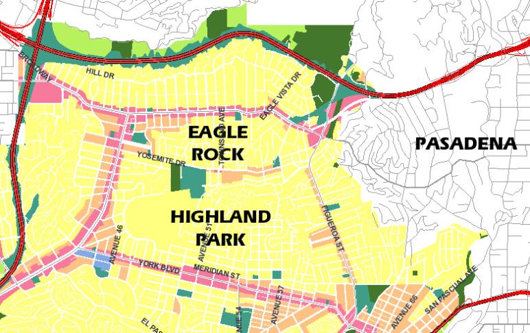 LA Metro's Rapid Bus Plan Is Tearing Eagle Rock Apart: LAist on